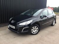 2011 Peugeot 308 1.4 Access 5dr Low Miles 1 Previous Owner, 2 Keys, Finance Available May PX