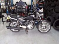 Yamaha YBR 125 Custom (North West free delivery)