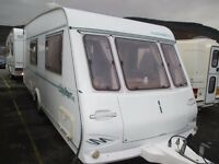 Compass Clermont 500/4 berth 2000 model clean and dry family caravan and all ready to go on holidays