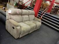 Amazing fabric reclining sofa