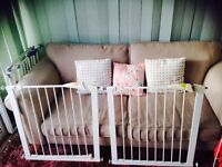 2 Mothercare baby gates