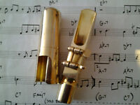 Saxophone mouthpieces for alto and tenor from £10