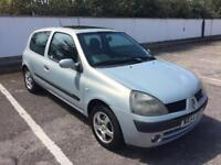 2004 RENAULT CLIO 1.2 MOT FEBRUARY 2019, READY TO GO, GREAT FIRST CAR