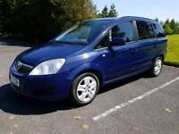 2012 VAUXHALL ZAFIRA 1.7cdti exclusive..motd may 2019..low miles ..7seater