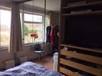 Large wardrobe with mirrors all over