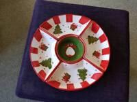 Christmas Nibbles plates