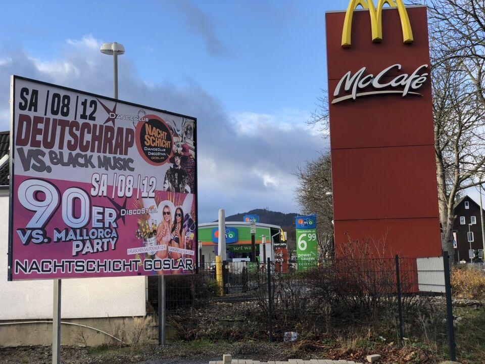Werbefläche /Plakat direkt an der Hauptstraße Goslar zu vermieten in Niedersachsen - Goslar