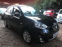 Nissan Micra 1.2 Acenta 5dr£4,995 p/x welcome FREE WARRANTY, NEW MOT