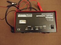 Sealey Battery Charger Electronic, 9 A, 12/ 230 V