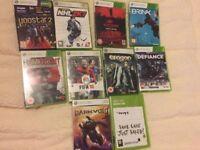 9 xbox 360 video games