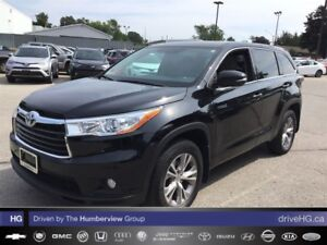 2014 Toyota Highlander Hybrid LE   NO ACCIDENTS   ONE OWNER   LO