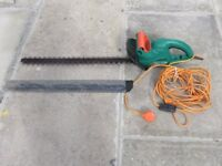 Hedge Trimmer, Electric, Long Blade.