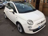 Fiat 500 1.3 Multijet Lounge 3dr (white) 2009