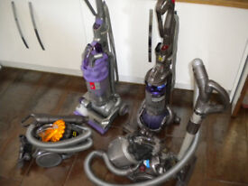 Dyson Vacuum cleaner, choice of upright and cylinder - recent service - very powerful!