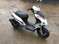 70cc reg as 50cc firefox moped scooter vespa honda piaggio yamaha gilera runner peugeot zip