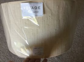 NEW-CREAM COLOURED LARGE LAMPSHADE 36cm dia.