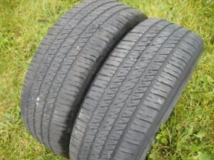 Two 205-55-16 Tires