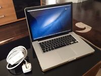 Apple MacBook Pro 15 inch 2.4 Ghz 4gb Ram 320 HD Logic Pro 9 & Pro X, Adobe, Final Cut Pro