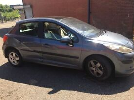 PEUGEOT 207 1.4 KFU GREY DAMAGED SALVAGE BREAKING SPARE PARTS 2006-2012