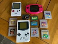 Retro Game Boy Collection + Spares