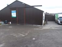 WAREHOUSE/OFFICES/STORAGE FACILITY WITH WORKSHOP FORFAR