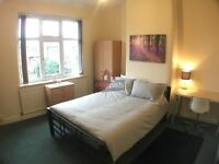 Large comfortable double room available for workers/mature students