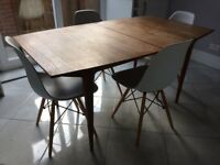 Mckintosh teak 60's vintage retro extending dining table