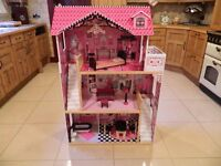 Kidcraft Amelia Dolls House & Furniture
