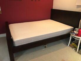 Dark Teak Bedroom Set