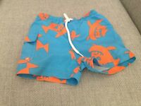 Next boys swimming shorts 6-9 months