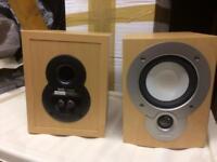 Denon/Mission SC51 bookshelf speakers