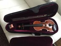 Piacenza Violin 3/4size with bow and carry case