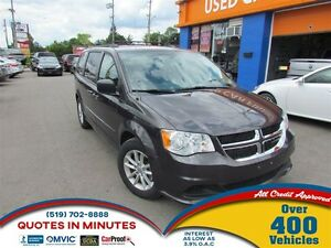 2015 Dodge Grand Caravan SXT | STOW 'N' GO | BACKUP CAM | DVD