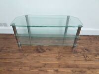 Glass TV Stand - Great Condition