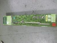 BRAND NEW GARDENLINE 240V POLE HEDGE CUTTER IN BOX, UNUSED ELECTRIC