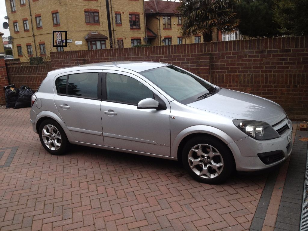 2006 vauxhall astra sxi silver diesel in. Black Bedroom Furniture Sets. Home Design Ideas