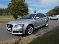 AUDI A3 TDI DIESEL 1.6 HATCHBACK LIMITED EDITION SILVER 2010 BARGAIN ONLY £3895 *LOOK* PX/DELIVERY