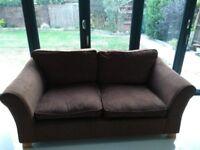 2 seater sofa brown (Marks & Spencer)