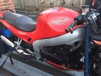 Triumph st 955i motorbike bike