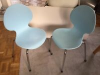 Children's retro chairs x2