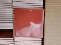 Tiles. Terracotta. 3 boxes. 300 tiles - Bargain!!
