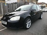 Vw golf 2006-Autometic-1.6FSI-Hpi clear-1 privious owner