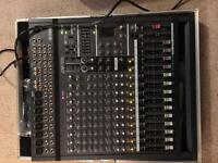 PA System - Yamaha EMX-5000 Mixer, 2 Yamaha S15e, Speaker Stands, Cases, Cables and Bags - As New