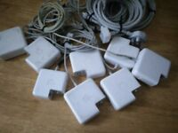 Apple magsafe 1 and 2 Chargers. FAULTY. SPARES