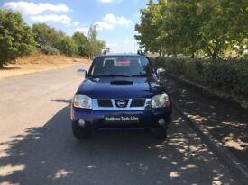 NISSAN NAVARA 2.5 Di Crewcab Pickup 4dr (blue) 2003