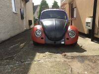 Vw beetle unfinished project solid as a rock