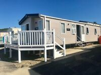 High Spec Static 6 Berth Caravan Holiday Home at Quay West New Quay Sea view Pitch and Parking