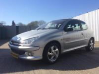54 Peugeot 206 XSi 1.6 Quicksilver 3dr Hatchback - FULL MOT - Alloys - Sporty Looks - PX WELCOME