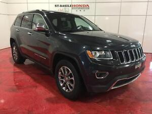 Jeep Grand Cherokee Limited 4X4 + Cuir + Toit + Luxe + Légendair