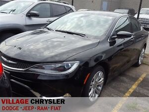2016 Chrysler 200 Limited 8.4Touchscreen/Bluetooth,Backup Camera